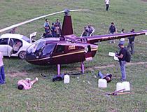 Dono de fazenda onde helicóptero de Perrella pousou com cocaína é preso