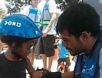 Mortes: Raul ensinava sorrindo e virou bicicleta