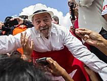 Em 3ª caravana, Lula vai ao Rio e ao ES sob ameaça de hostilidade