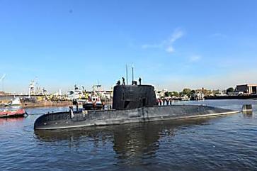 Objeto a 940m de profundidade pode ser submarino desaparecido