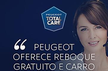 Programa da Peugeot oferece reboque gratuito e carro à disposição