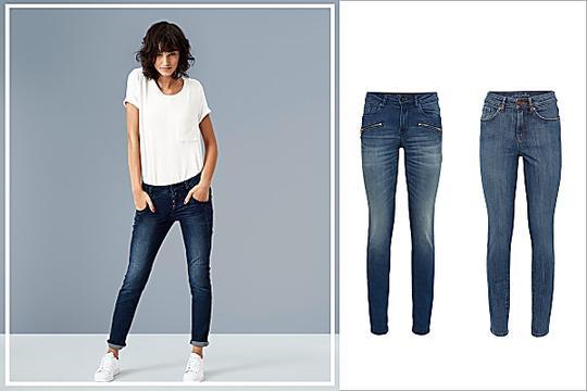 Immer auf der Suche nach einer passenden Jeans?