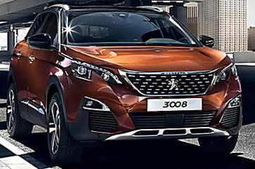 Nova versão Griffe Pack do SUV Peugeot 3008