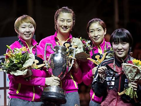 China's top table tennis league bans foreigners