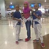 Actor Femi Adebayo Vacations With His Children In Dubai – Photos