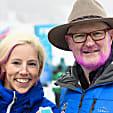 Gold win means pink beard for US ski spokesman