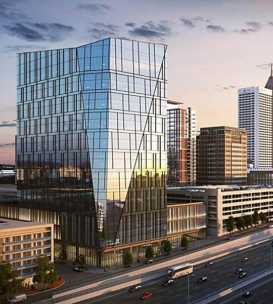 Fresh Renderings of NCR's 'Iconic' HQ Are Huge Improvement