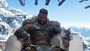 Winston Duke's M'Baku heats up 'Black Panther' fans