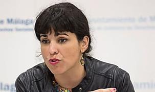 Teresa Rodríguez va por libre para las elecciones municipales pese a las directrices de Pablo Iglesias
