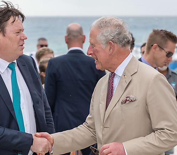 Lendlease joins Prince Charles to save reef