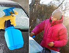 Defrost your car windscreen in SECONDS with this £1.35 item you probably have in your home