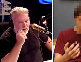 TIME TRAVEL: Man STUNS Australian radio hosts with SHOCKING predictions about future
